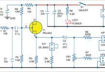 high impedance audio buffer circuit
