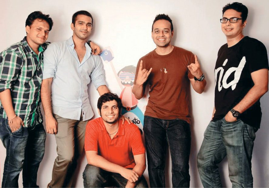 The team at Diabeto (L to R): Jayesh Dhanwade, Vishal Chavan, Sheldon Lobo, Shreekant Pawar and Hemanshu Jain