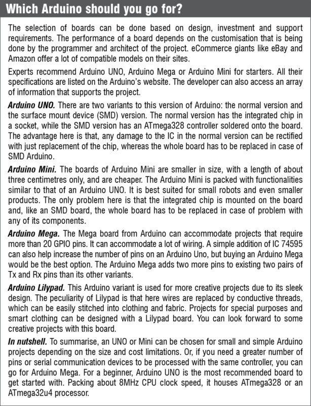 Arduino Board suggestions (Arduino programming)