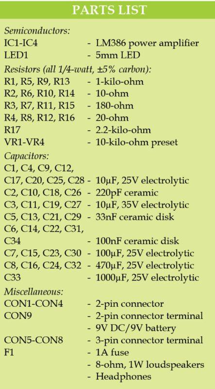 parts list-72