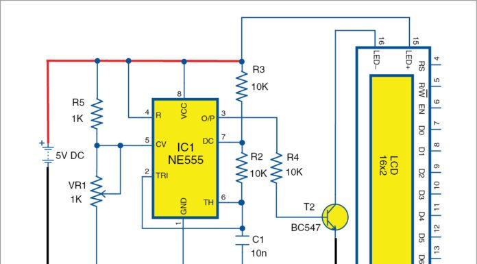 dimming LCD backlight circuit