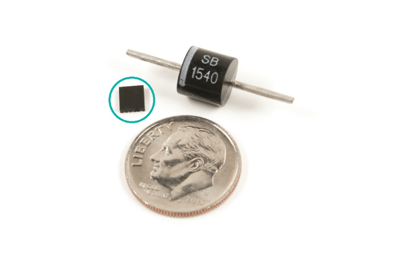 Maxim replaces protection diodes with DC-DC buck converters_circled