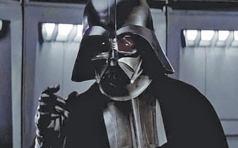 Fig. 1: Darth Vader in the movie franchise Star Wars looked very mechanical (Image courtesy: www.geeksofdoom.com)