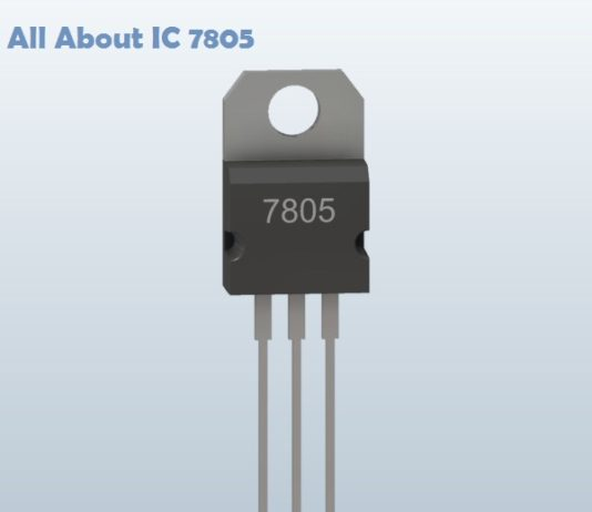 all about 7805 IC
