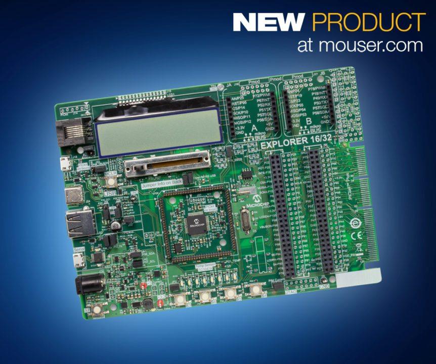 PRINT_Microchip Explorer 16 32 Dev Board