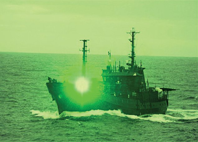 Protection of ships from asymmetric threats