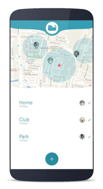 location tracking using wagr