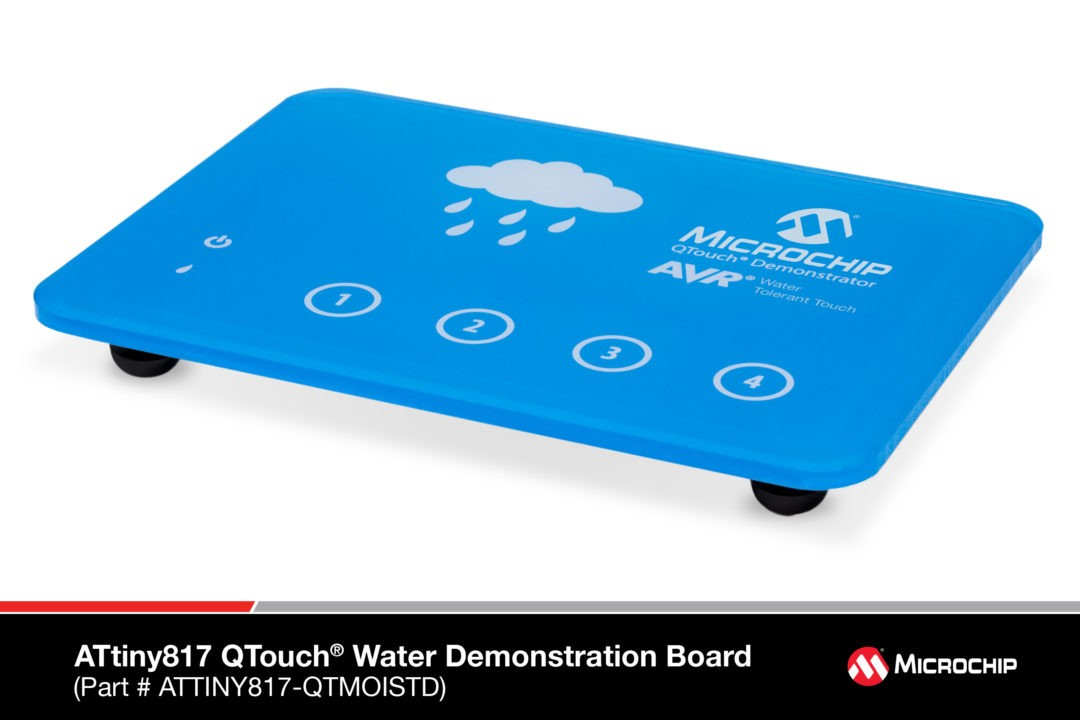 ATtiny817 QTouch Water Demonstration Board-1