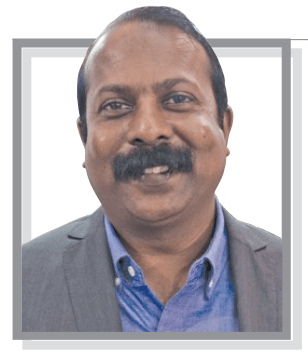 Ravindra Kumar country manager, Samtec inc. talking about connectors