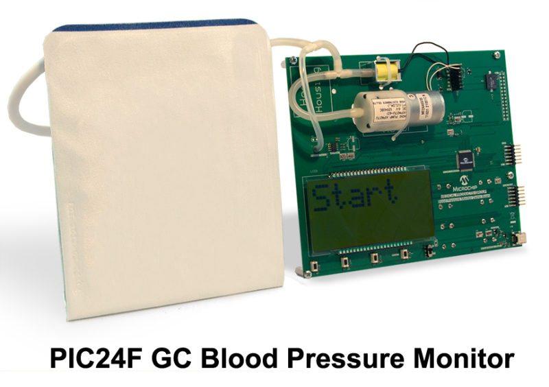 bp monitor microchip