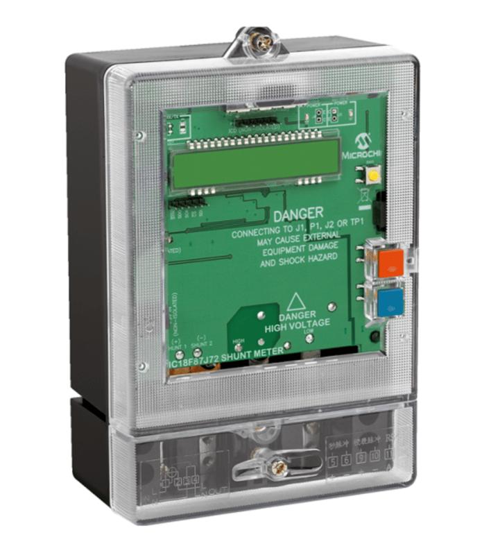 electricity meter microchip
