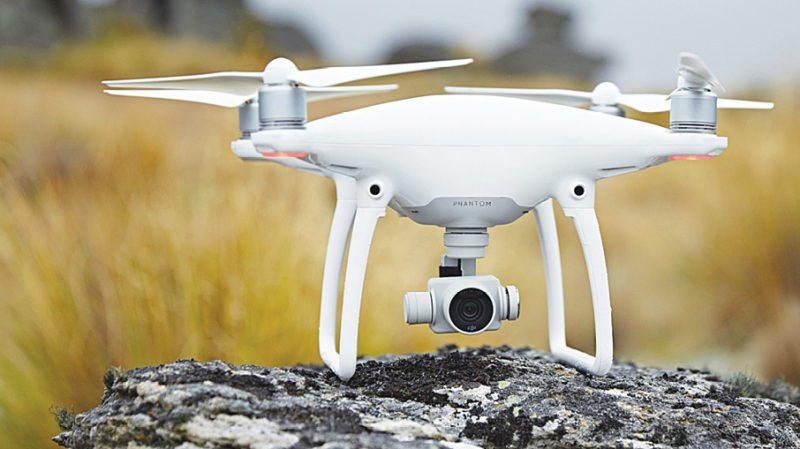 Phantom 4 drone by DJI