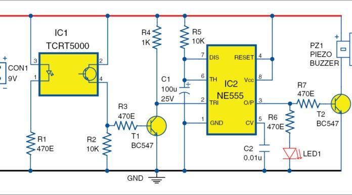 optoreflective sensor