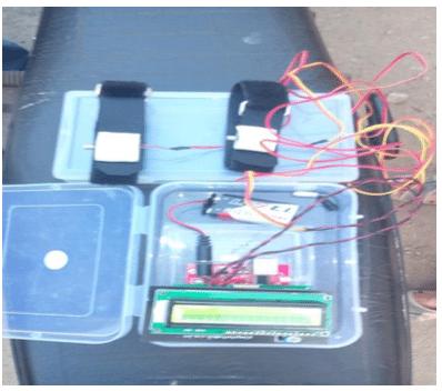Wristband Based GPS Navigation System: Prototype