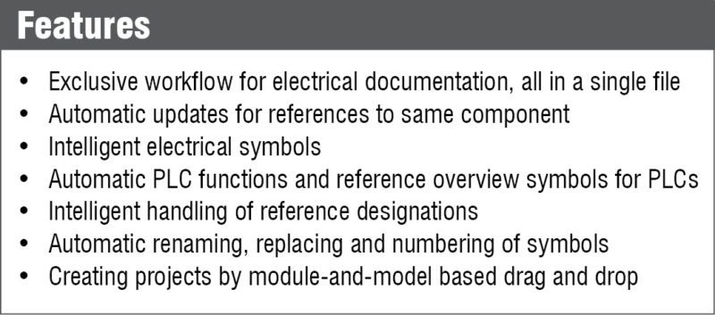 Features of PCSCHEMATIC Automation