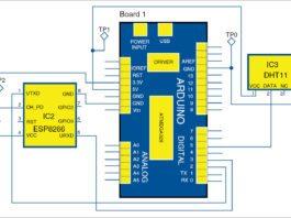 temperature monitoring using arduino