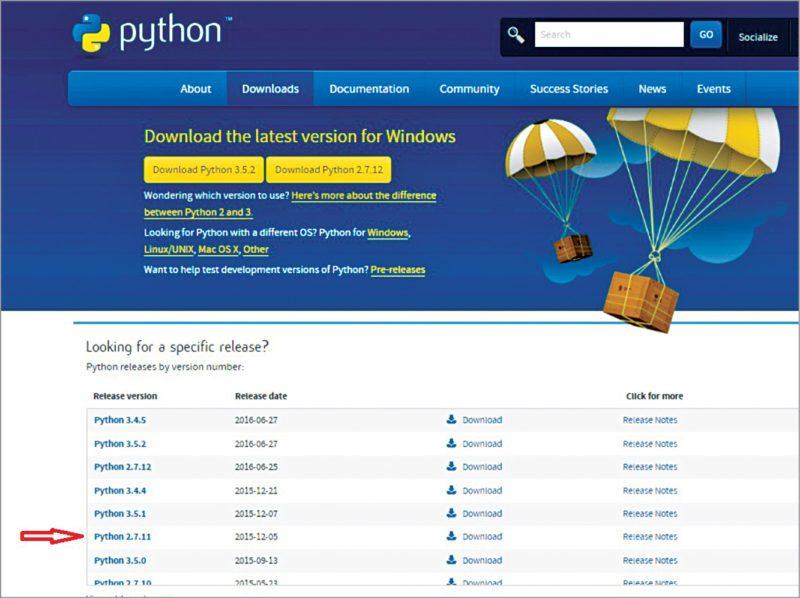 Download Python: SMS alert system