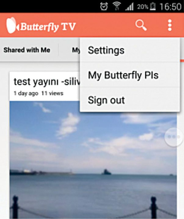 IoT based smart camera: My Butterfly Pi