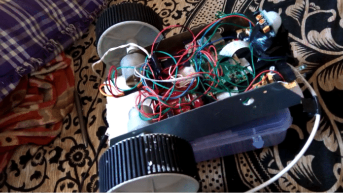 wireless video surveillance robot