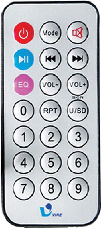 Screenshot of VIRE IR remote