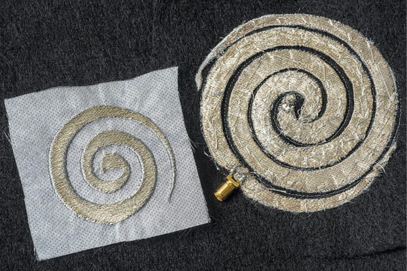 Ohio State University researchers have developed a way of embroidering electronic components into clothing | Smart fabrics
