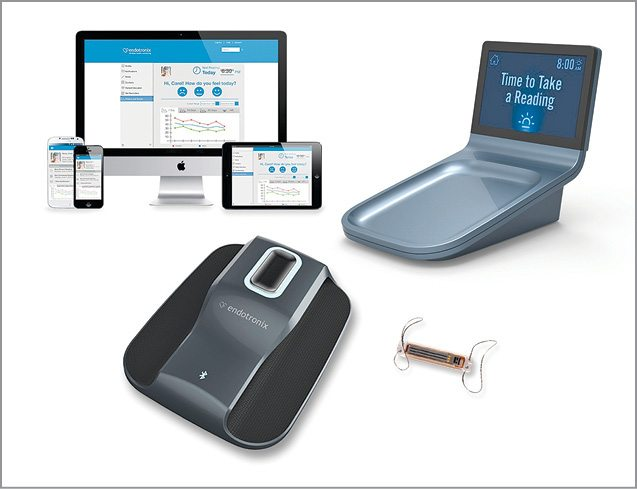 Endotronix wireless health monitoring