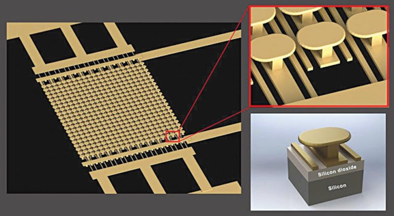 Semiconductor-free microelectronic device (Image courtesy: UC San Diego Applied Electromagnetics Group)