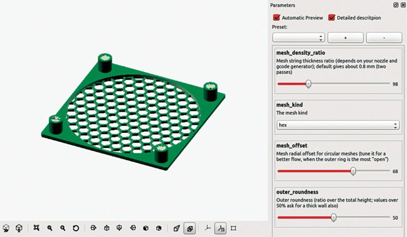 OpenSCAD customiser