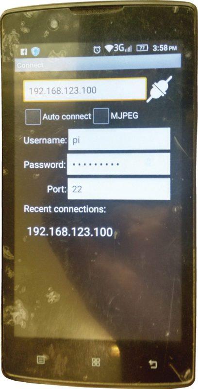 Installing RaspiCam Remote app