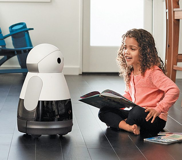 Kuri is a cute robot that helps, inspires and keeps an eye on your house (Courtesy: Mayfield Robotics)