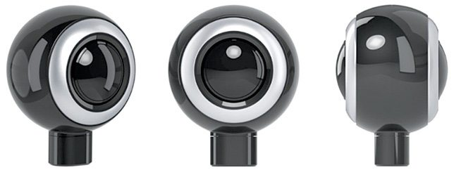 LyfieEye is a tiny 360-degree camera that plugs into your Android phone (Courtesy: eCapture Technologies)