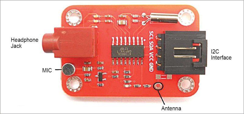 FM transmitter V2.0 module
