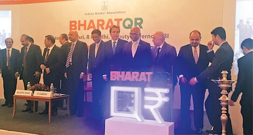 BharatQR Code was launched earlier this year