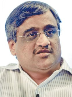 Kishore Biyani, CEO of Future Group (Image courtesy: India Retail Forum)