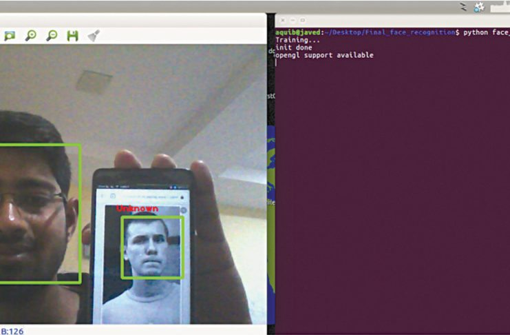 real time face recognition