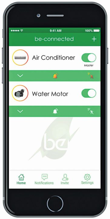 Scheduling different appliances on the Be-Connected app