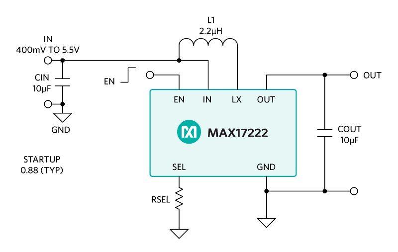 MAX17220–MAX17225 Basic Circuit