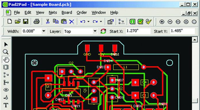 pd2pad circuit simulation