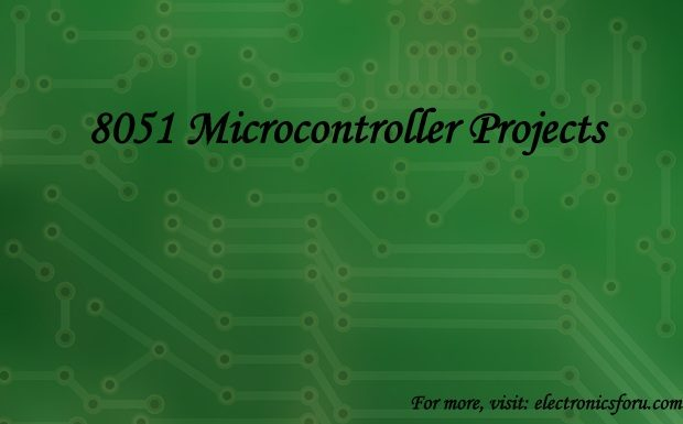 8051 microcontroller projects