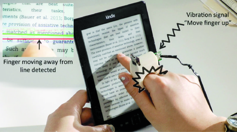 FingerReader for the visually impaired (Image courtesy: news.mit.edu)