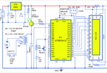 automatic drip irrigation system circuit