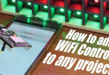 how to add Wi-Fi to any project