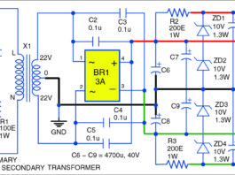 30W Audio Amplifier Circuit