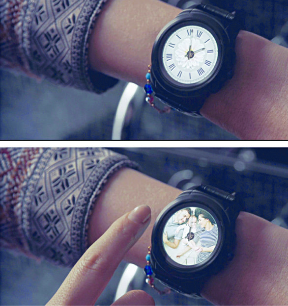 MyKronoz's ZeTime is a smartwatch with mechanical hands too (Courtesy: MyKronoz)