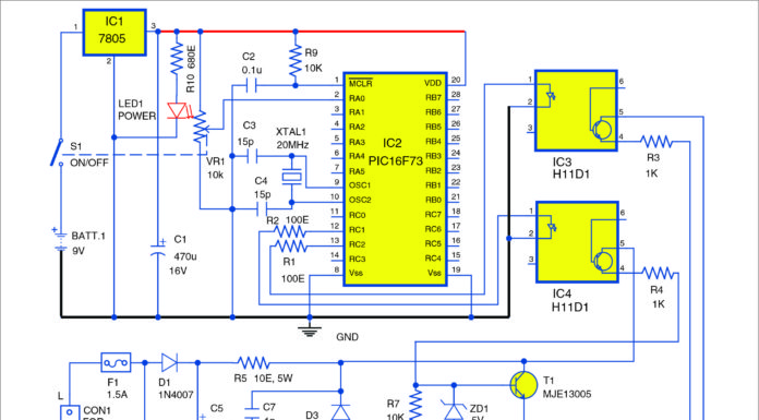 fan speed regulator using PIC16f73