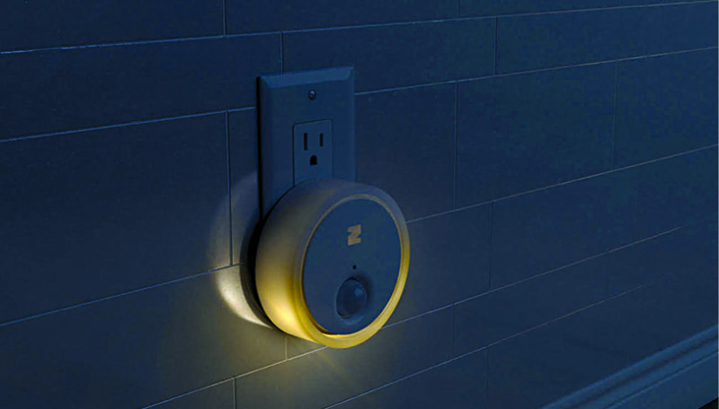 A smart night light that helps you move around and find stuff in the darkness (Courtesy: Team Zing)