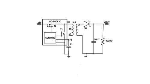 Iso-Buck Converters circuit
