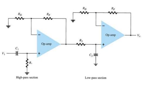 band pass filter circuit