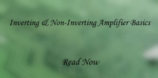 inverting & non-inverting amplifier