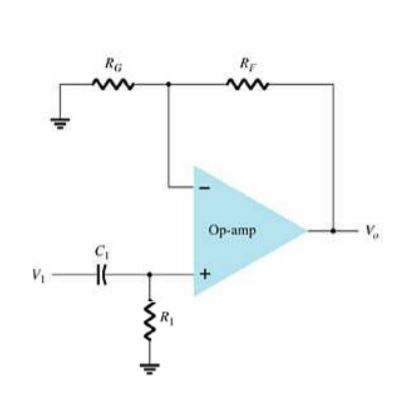 high pass filter circuit
